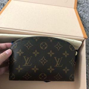 Authentic Louis Vuitton cosmetic pouch monogram pm